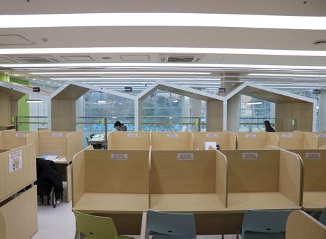 독서실 사진